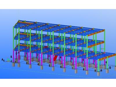 复杂型钢结构设计