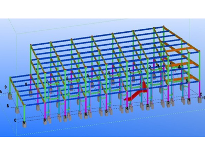 钢结构设计模型